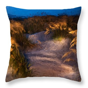 Coastal Passage Throw Pillow