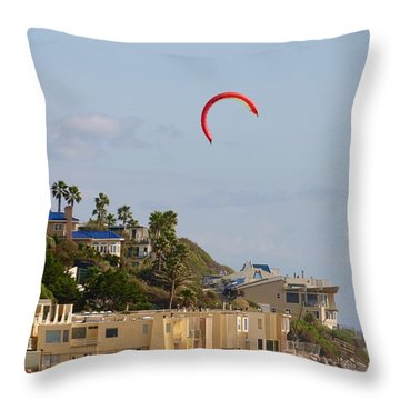 Coastal Pleasures Throw Pillow