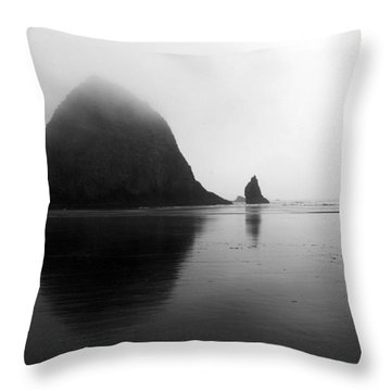 Coastal Serenity Throw Pillow by Sue Cullumber