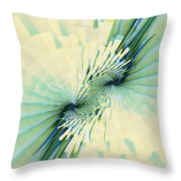 Coastal Summer Throw Pillow