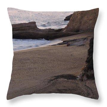 Coastal Tide Pool Throw Pillow