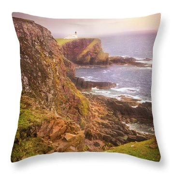 Coastal Walks IIi Throw Pillow by Maciej Markiewicz
