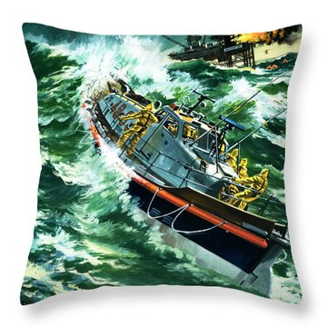 Perilous Throw Pillows