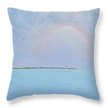 Coasting Into Lavender Throw Pillow by Jaison Cianelli