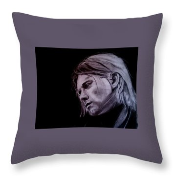 Heart Shaped Box Throw Pillow