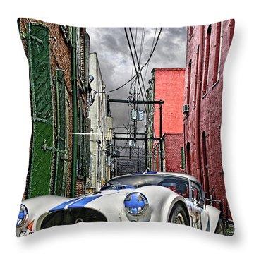 Cobra Alley Throw Pillow