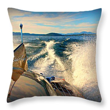 Cobra By The Tail Throw Pillow