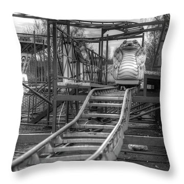 Cobra Coaster Throw Pillow