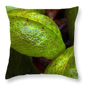 Cobra Lily Love Throw Pillow
