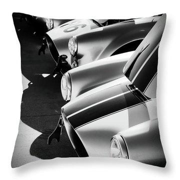 Cobra Pit Throw Pillow by Douglas Pittman