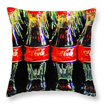 Cocacola Throw Pillows