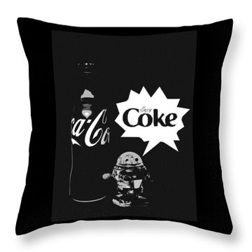 Coca-cola Forever Young 9 Throw Pillow