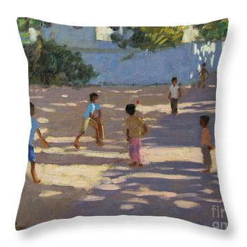 Cochin Throw Pillow by Andrew Macara