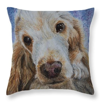 Cocker Spaniel Love Throw Pillow