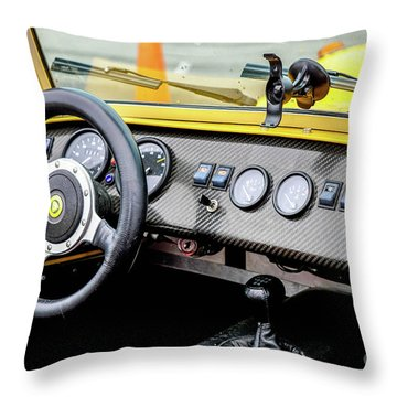 Cockpit 7 Throw Pillow