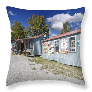 Cockspur Farm Throw Pillow