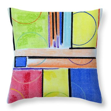 Cocktail Stains Throw Pillow