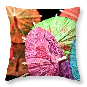 Parasol Throw Pillows