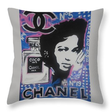 Coco Dandridge Throw Pillow