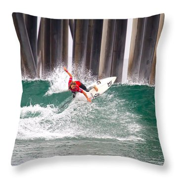 Coco Ho Surfer Girl Throw Pillow