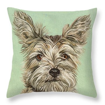 Coco II Throw Pillow