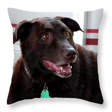 Coco Wooten Throw Pillow