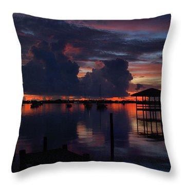 Cocoa Bay Throw Pillow