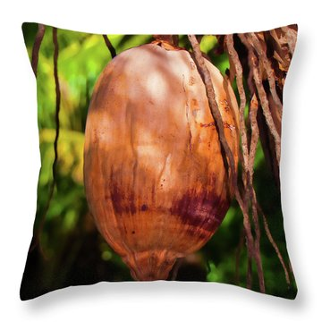 Coconut 2 Throw Pillow