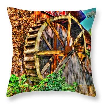 Cody Creek Mill  Throw Pillow