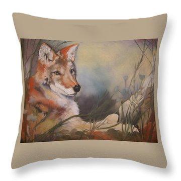 Cody Throw Pillow by Marika Evanson