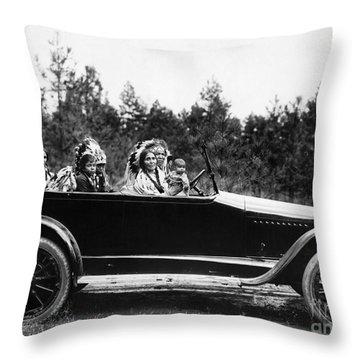 Coeur Dalene, C1916 Throw Pillow by Granger