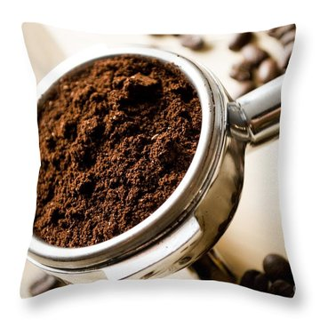 Coffee #10 Throw Pillow