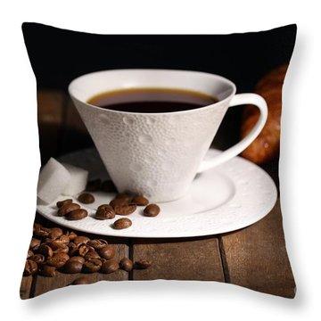 Coffee #4 Throw Pillow