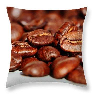 Coffee #6  Throw Pillow