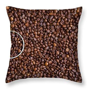 Coffee #7  Throw Pillow