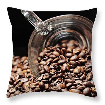 Coffee #9 Throw Pillow