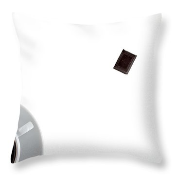 Throw Pillow featuring the photograph Coffee And Chocolade by Gert Lavsen