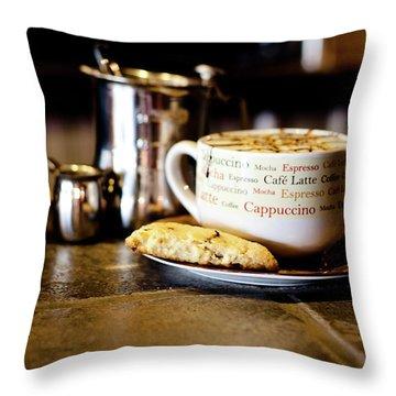 Coffee Bar Throw Pillow