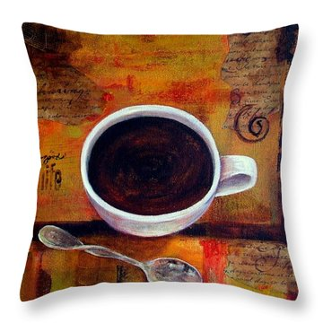 Coffee I Throw Pillow