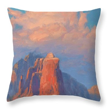 Coffee Pot Afternoon Throw Pillow