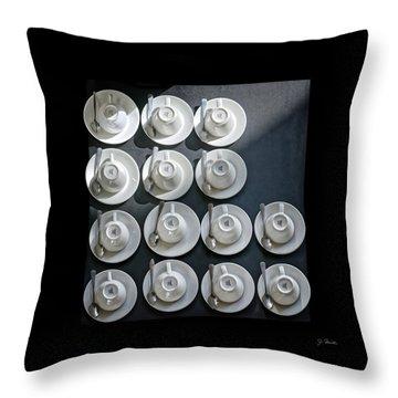 Coffee Time No. 2 Throw Pillow