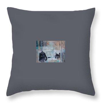 Cognitive 2 Throw Pillow by KA Davis