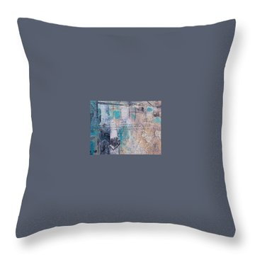 Cognitive 3 Throw Pillow by KA Davis