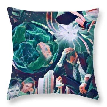 Cognitive Dissonance Throw Pillow