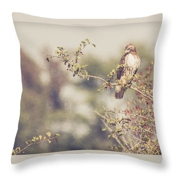 Coign Of Vantage Throw Pillow