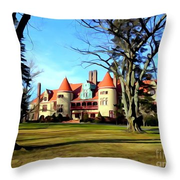 Coindre Hall Grandeur Throw Pillow