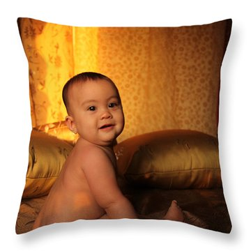 Coka Lokes Throw Pillow