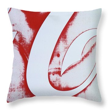 Coke 3 Throw Pillow