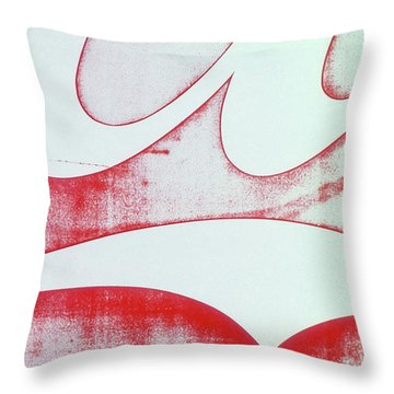 Coke 4 Throw Pillow by Laurie Stewart