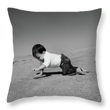 Cokes World Throw Pillow